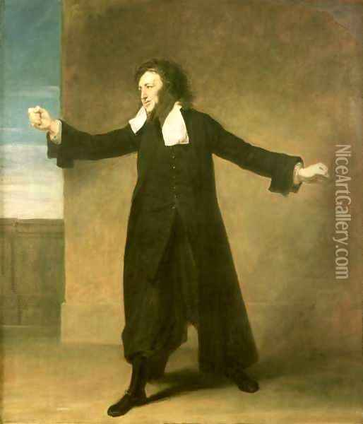 Charles Macklin (c.1697-1797) as Shylock in The Merchant of Venice by William Shakespeare at Covent Garden, 1767-68 Oil Painting - Johann Zoffany