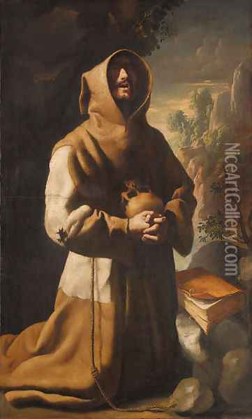 The Ecstasy of Saint Francis Oil Painting - Francisco De Zurbaran
