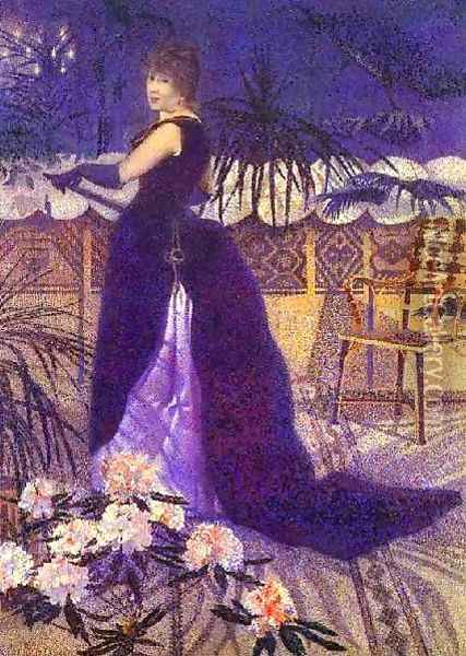 Hector France Nee Irma Clare Oil Painting - Henri Edmond Cross