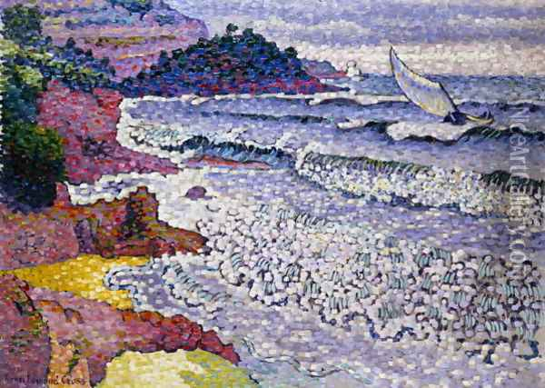 The Choppy Sea, 1902-3 Oil Painting - Henri Edmond Cross