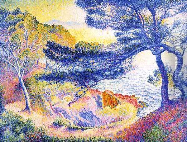 Cape Layet, Provence Oil Painting - Henri Edmond Cross