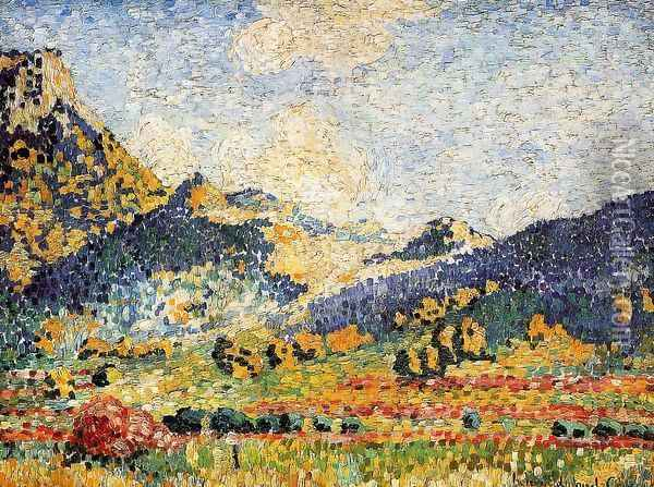 Les Petits, Montagnes Mauresques Oil Painting - Henri Edmond Cross