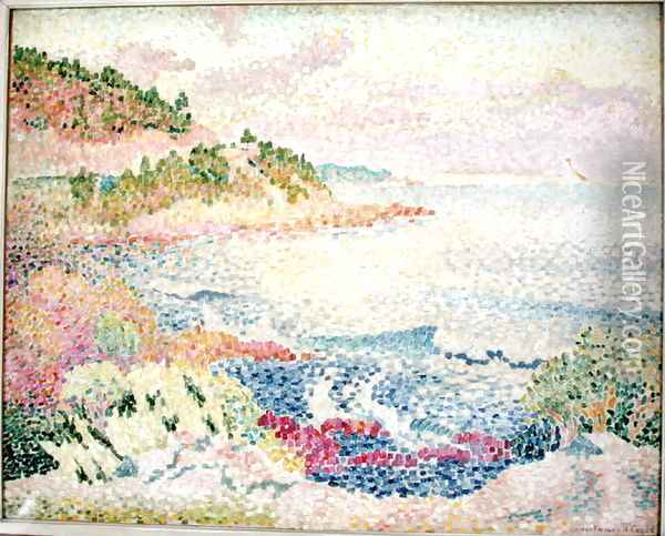 The Maures, c.1906-06 Oil Painting - Henri Edmond Cross