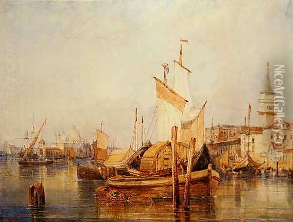 Venice 2 Oil Painting - William Wyld