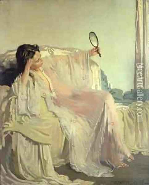The Eastern Gown, 1906 Oil Painting - Sir William Newenham Montague Orpen