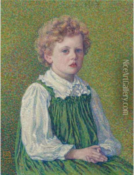 Margery Oil Painting - Theo van Rysselberghe