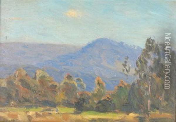 Untitled - Landscape Oil Painting - Edward Officer