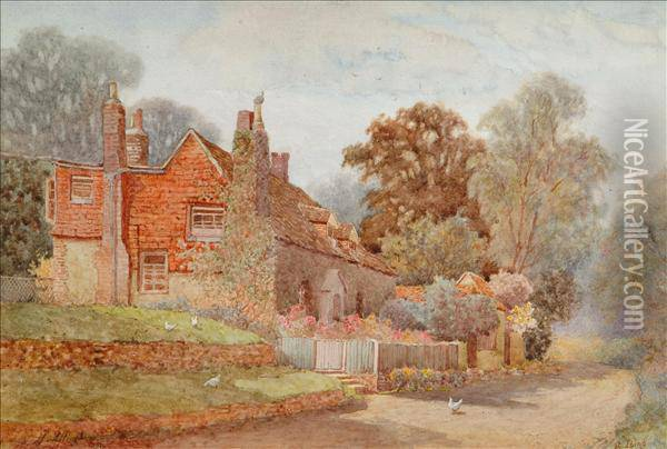 Atiping, Sussex Oil Painting - Helen Mary Elizabeth Allingham