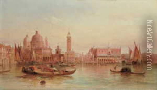 In Venedig Oil Painting - Alfred Pollentine