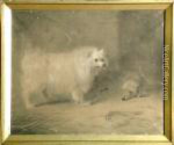 With Signature And Date 1884. Oil Painting - Archibald Thorburn
