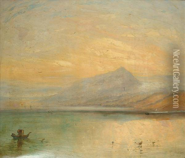 After Joseph Mallord William Turner The Bluerigi Oil Painting - Joseph Mallord William Turner