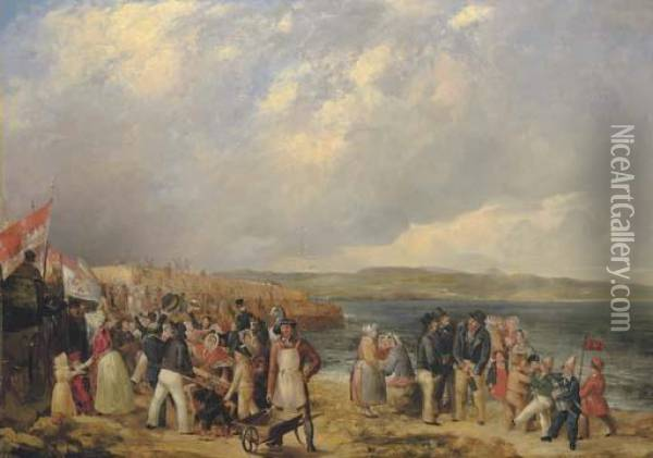 The Opening Of Granton Harbour, 