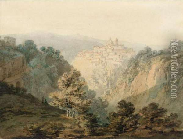 Ariccia, Near Rome Oil Painting - Joseph Mallord William Turner