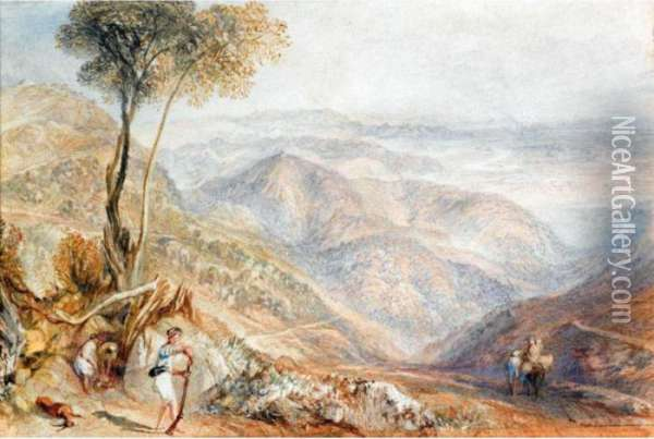 Valley Of The Dhoon, India Oil Painting - Joseph Mallord William Turner