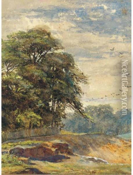 Hampstead Heath Oil Painting - Helen Mary Elizabeth Allingham