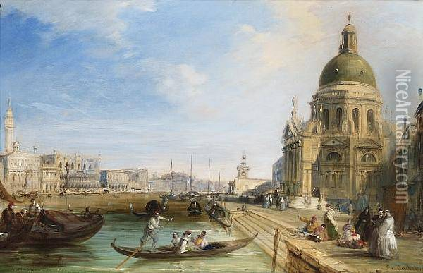 The Grand Canal With The Temple 