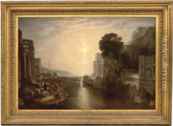Dido Building Carthage Oil Painting - Joseph Mallord William Turner