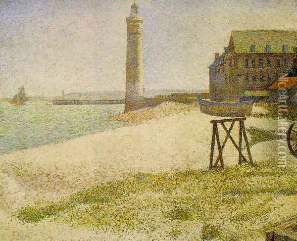 lighthouse Oil Painting - Georges Seurat