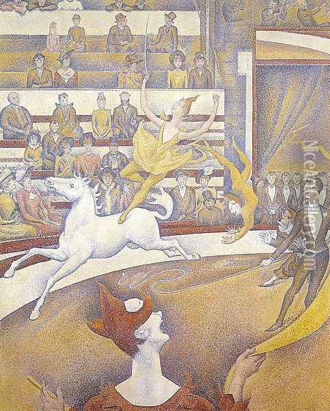 The Circus 1890-91 Oil Painting - Georges Seurat