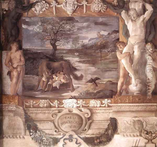 The Stories of Jason Oil Painting - Lodovico Carracci