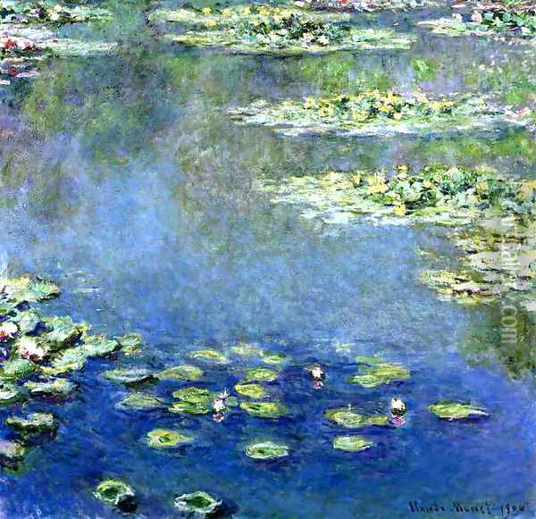 Water Lilies Oil Painting - Claude Oscar Monet