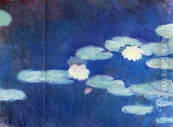 Water-Lilies I Oil Painting - Claude Oscar Monet