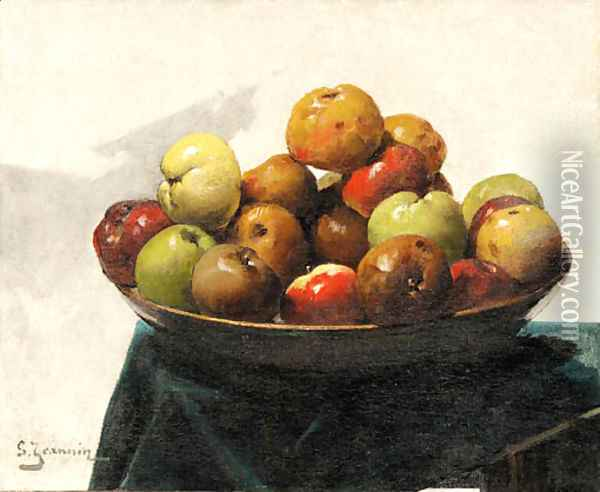 Still life Oil Painting - Georges Jeannin