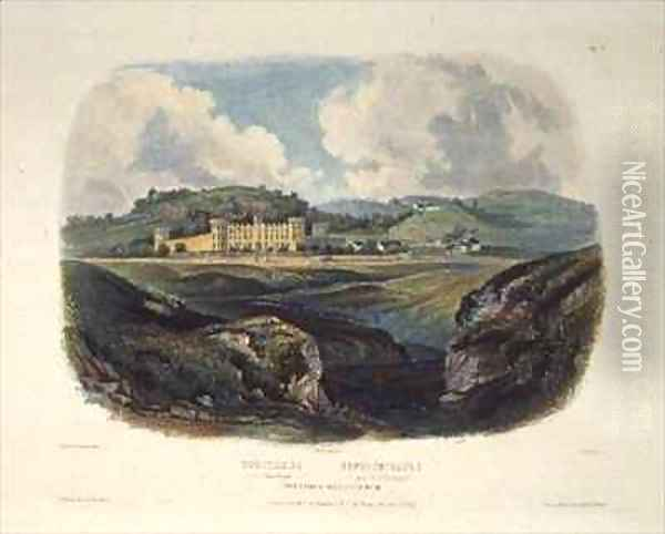 Penitentiary near Pittsburgh Oil Painting - Karl Bodmer