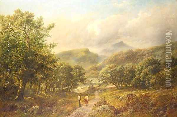 The Meeting Oil Painting - James Ward