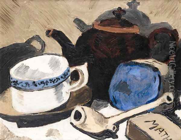 Still Life 2 Oil Painting - Christopher Wood