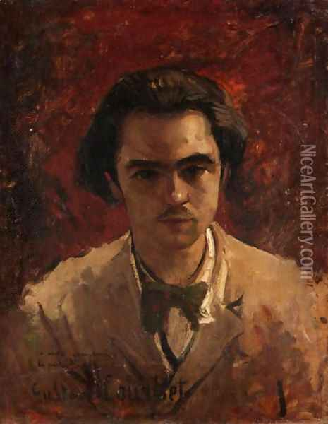 Portrait Of A Gentleman Oil Painting - Gustave Courbet