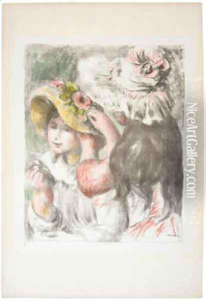Le Chapeau Epingle, 2eme Planche 2 Oil Painting - Pierre Auguste Renoir