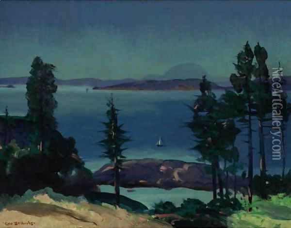 Day Of Dreams Oil Painting - George Wesley Bellows