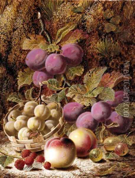 Summer's Bounty Oil Painting - Oliver Clare