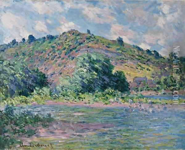 Bords De La Seine A Port-Villez Oil Painting - Claude Oscar Monet