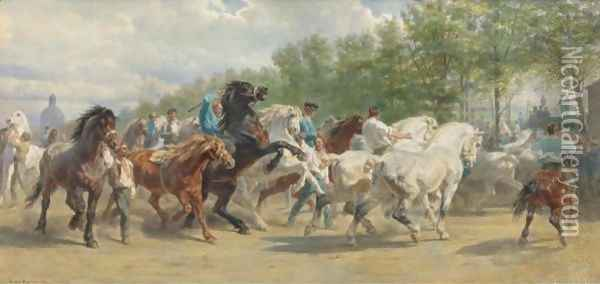 The Horse Fair 2 Oil Painting - Rosa Bonheur