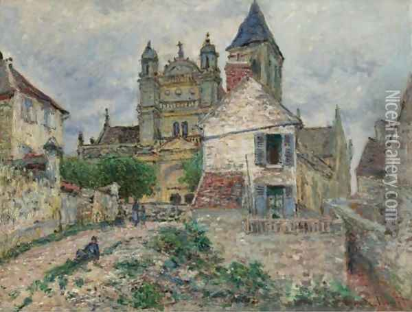 L'Eglise De Vetheuil Oil Painting - Claude Oscar Monet