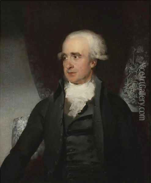 Portrait Of A Gentleman, Said To Be The Rt. Hon. Spencer Perceval M.P. (1762-1812) Oil Painting - Sir Thomas Lawrence