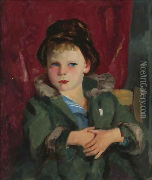 Jimmie Gerry Oil Painting - Robert Henri