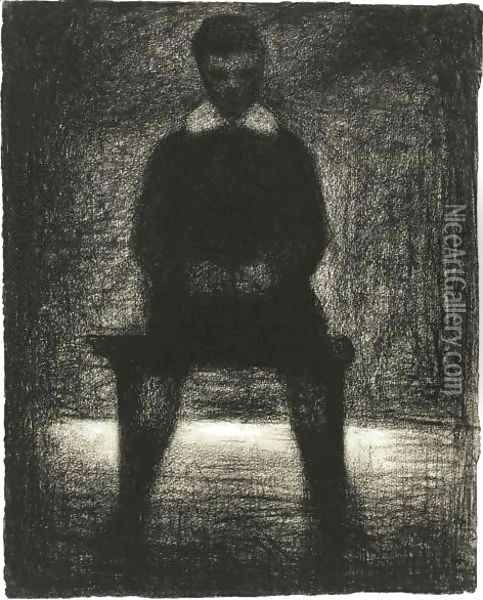 Maurice Appert Oil Painting - Georges Seurat