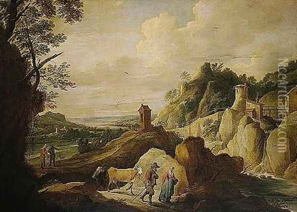 Antwerp 1610-1690 Brussels Oil Painting - David The Younger Teniers