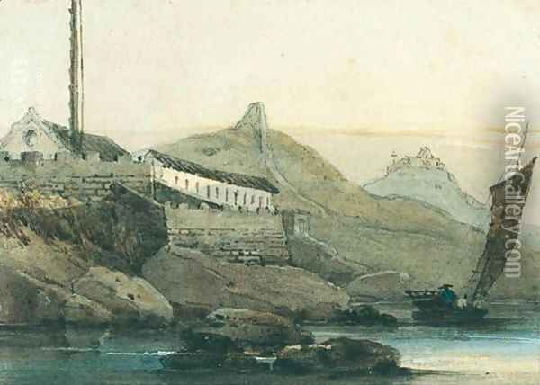 Macao Oil Painting - George Chinnery