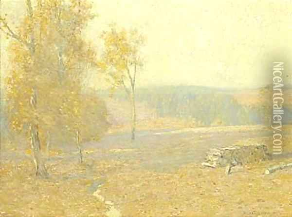 Indian summer Oil Painting - Bruce Crane