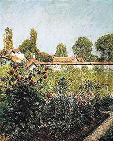 Garden 2 Oil Painting - Gustave Caillebotte