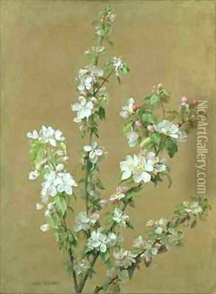 Apple Blossom Oil Painting - Jean Benner