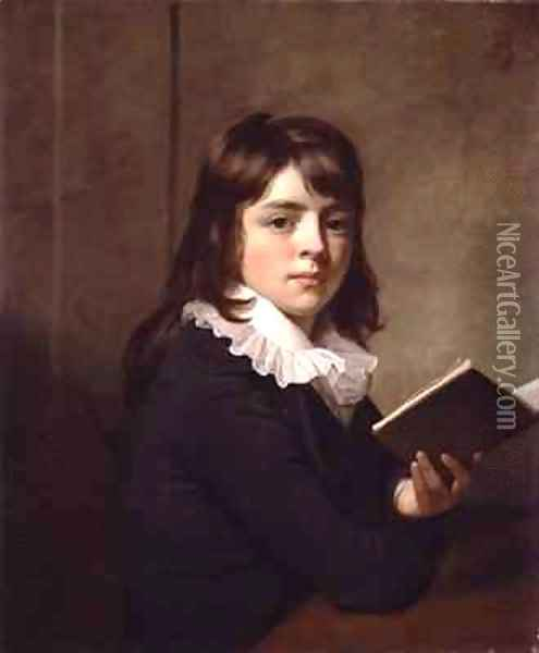 Portrait of a Boy Oil Painting - Sir William Beechey