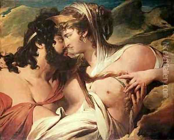 Jupiter and Juno on Mount Ida Oil Painting - James Barry