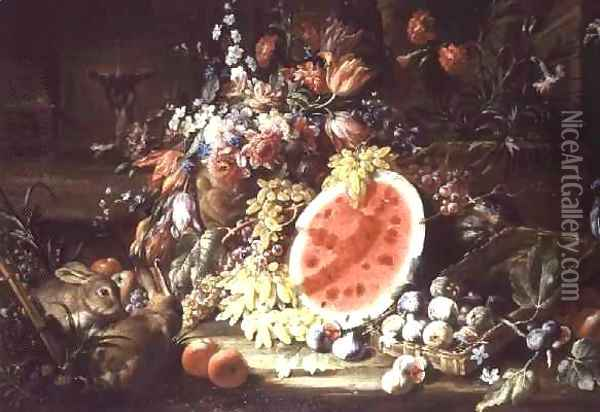 Still Life of Fruit Oil Painting - Aniello Ascione