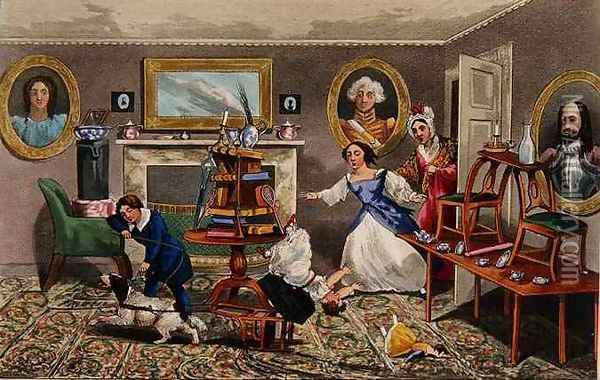 The First Step to the Coach-Box Oil Painting - Henry Thomas Alken