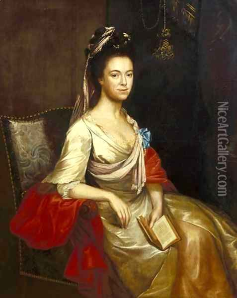 Mary Jemima Balfour Oil Painting - Cosmo Alexander